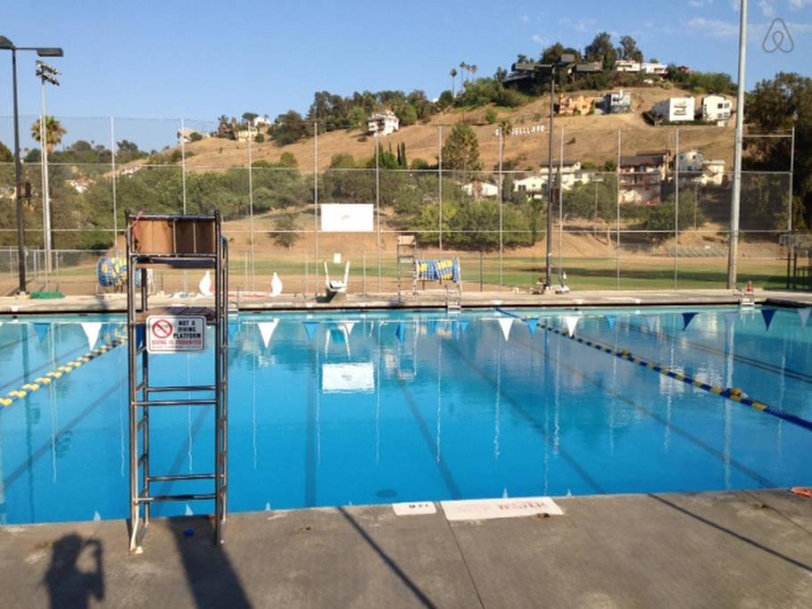 Glassell Park Pool La City